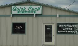 Jerseyville Quick Cash store